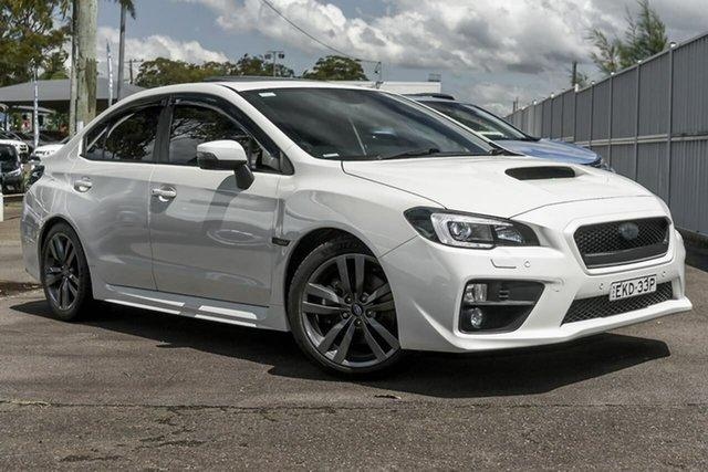 Used Subaru WRX V1 MY16 Premium AWD North Gosford, 2015 Subaru WRX V1 MY16 Premium AWD White 6 Speed Manual Sedan