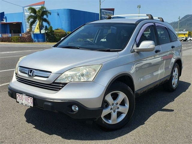 Used Honda CR-V RE MY2007 4WD Bungalow, 2009 Honda CR-V RE MY2007 4WD Silver 5 Speed Automatic Wagon