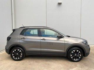 2020 Volkswagen T-Cross C1 MY21 85TSI Life Limestone Grey 7 Speed Auto Direct Shift Wagon.