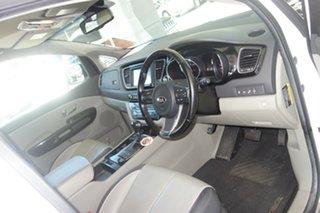 2015 Kia Carnival YP MY15 Platinum White 6 Speed Sports Automatic Wagon