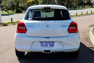 2019 Suzuki Swift AZ GL Navigator White 1 Speed Constant Variable Hatchback