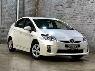 2010 Toyota Prius ZVW30R White 1 Speed Constant Variable Liftback Hybrid.
