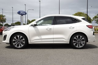 2020 Ford Escape ZH 2020.75MY Vignale White Platinum 8 Speed Sports Automatic SUV.