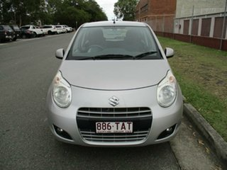2012 Suzuki Alto GF GL Silver 4 Speed Automatic Hatchback.