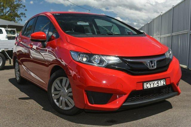 Used Honda Jazz GF MY15 VTi North Gosford, 2015 Honda Jazz GF MY15 VTi Red 5 Speed Manual Hatchback