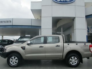 2014 Ford Ranger PX XLS 3.2 (4x4) Gold 6 Speed Automatic Double Cab Pick Up.