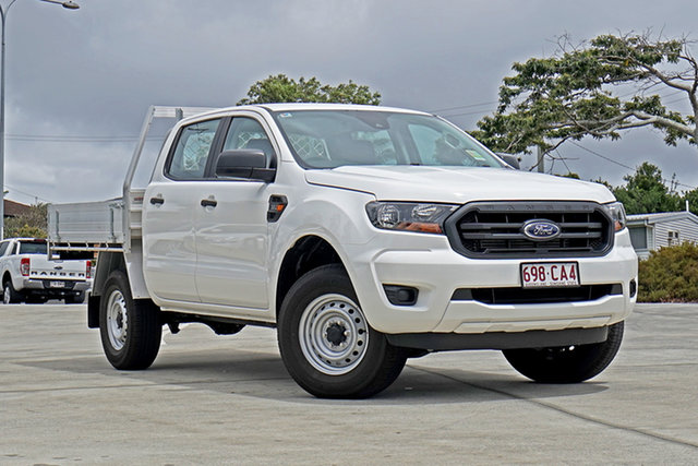 Used Ford Ranger PX MkIII 2021.25MY XL Capalaba, 2021 Ford Ranger PX MkIII 2021.25MY XL White 6 Speed Manual Double Cab Chassis
