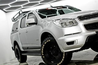 2014 Holden Colorado RG MY15 LS (4x2) Silver 6 Speed Automatic Crew Cab Chassis.