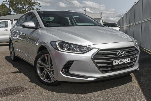 Used Hyundai Elantra AD MY17 Elite North Gosford, 2016 Hyundai Elantra AD MY17 Elite Silver 6 Speed Sports Automatic Sedan