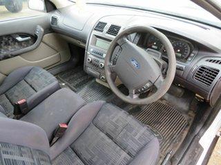 2005 Ford Falcon BA White 4 Speed Automatic Utility