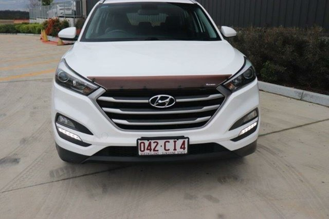 Used Hyundai Tucson TL MY18 Active X 2WD Augustine Heights, 2017 Hyundai Tucson TL MY18 Active X 2WD Winter White 6 Speed Sports Automatic Wagon