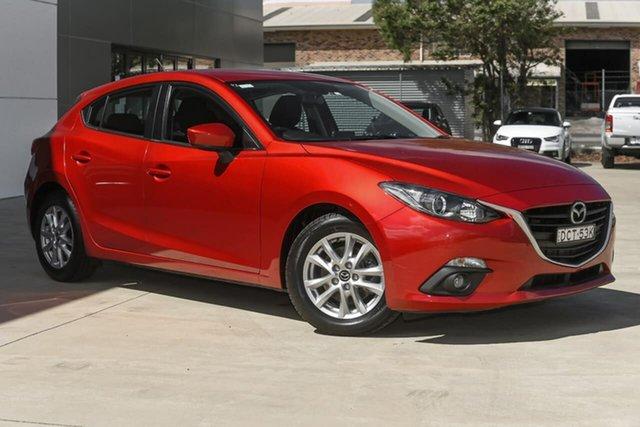 Used Mazda 3 BM5476 Maxx SKYACTIV-MT Tuggerah, 2015 Mazda 3 BM5476 Maxx SKYACTIV-MT Red 6 Speed Manual Hatchback