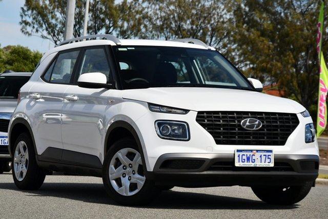 Used Hyundai Venue QX MY20 Go Clarkson, 2019 Hyundai Venue QX MY20 Go White 6 Speed Automatic Wagon
