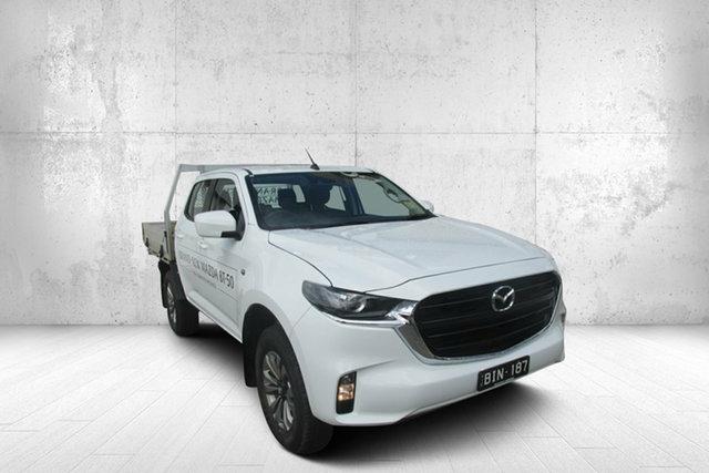 Used Mazda BT-50 TFS40J XT Bendigo, 2020 Mazda BT-50 TFS40J XT White 6 Speed Manual Cab Chassis