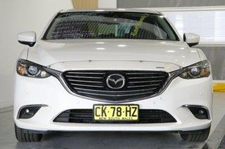2016 Mazda 6 6C MY15 GT Snowflake White 6 Speed Automatic Sedan