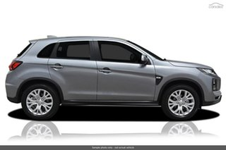 2021 Mitsubishi ASX XD MY21 ES Plus (2WD) Sterling Silver Continuous Variable Wagon