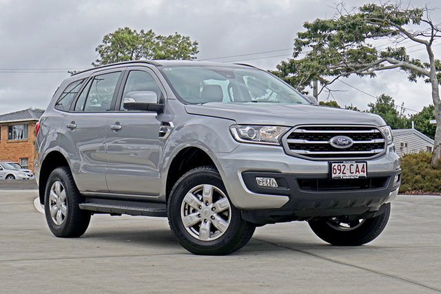Used Ford Everest UA II 2021.25MY Ambiente Capalaba, 2021 Ford Everest UA II 2021.25MY Ambiente Silver 6 Speed Sports Automatic SUV