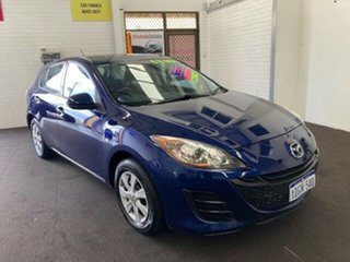 2010 Mazda 3 BL10F1 MY10 Neo Activematic Blue 5 Speed Sports Automatic Hatchback.