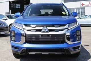 2021 Mitsubishi ASX XD MY21 ES Plus (2WD) Lightning Blue Continuous Variable Wagon.