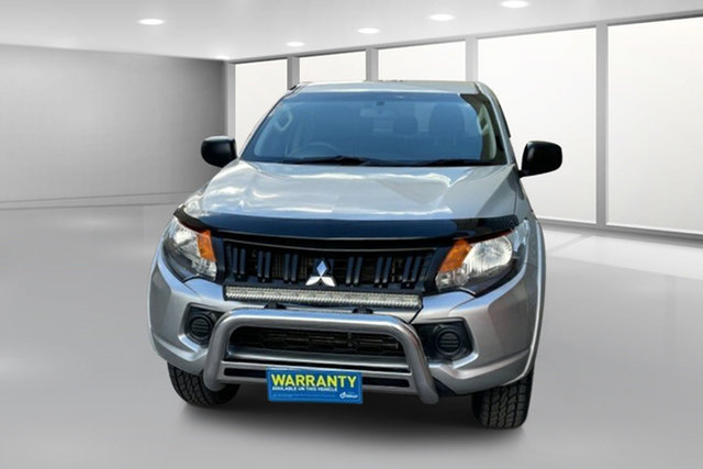 Used Mitsubishi Triton MQ MY16 GLX+ Double Cab West Footscray, 2016 Mitsubishi Triton MQ MY16 GLX+ Double Cab Silver 5 Speed Sports Automatic Utility