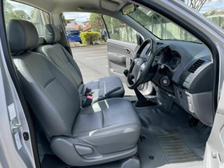 2015 Toyota Hilux TGN16R Workmate Silver 5 Speed Manual Single Cab