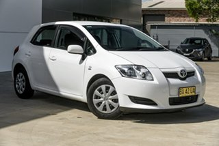 2009 Toyota Corolla ZRE152R Ascent White 4 Speed Automatic Hatchback.