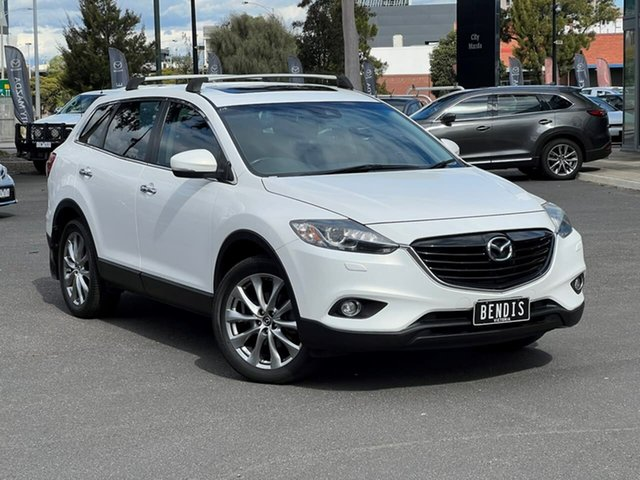 Used Mazda CX-9 TB10A5 Grand Touring Activematic AWD South Melbourne, 2013 Mazda CX-9 TB10A5 Grand Touring Activematic AWD Crystal White Pearl 6 Speed Sports Automatic