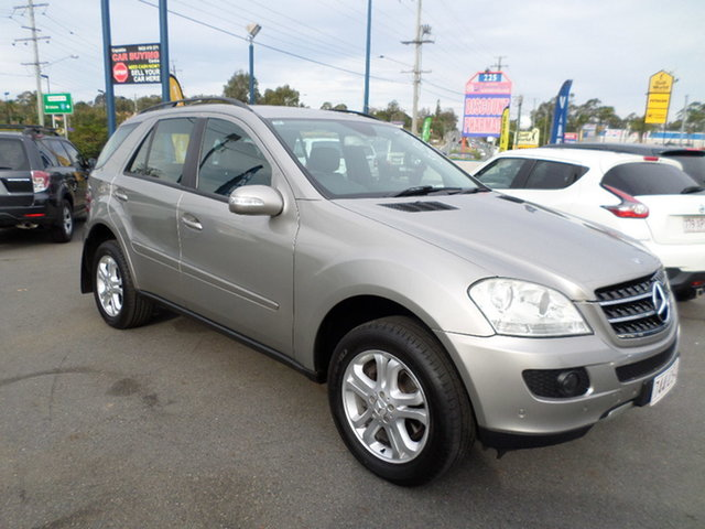 Used Mercedes-Benz ML350 Capalaba, 2005 Mercedes-Benz ML350 Silver Automatic Wagon