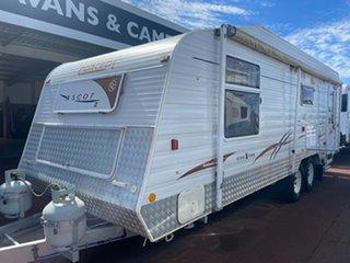 2007 Concept Ascot Caravan.