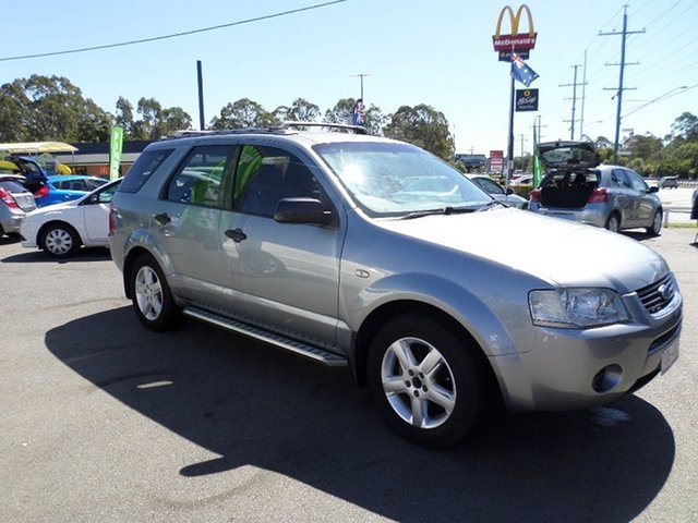 Used Ford Territory Capalaba, 2006 Ford Territory Grey Automatic Wagon