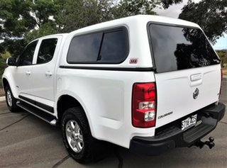 2013 Holden Colorado RG MY13 LT Crew Cab 4x2 White 6 Speed Sports Automatic Utility
