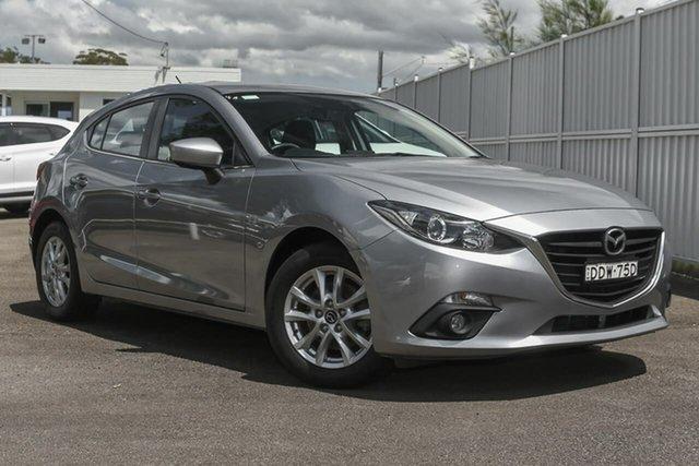 Used Mazda 3 BM5478 Maxx SKYACTIV-Drive North Gosford, 2016 Mazda 3 BM5478 Maxx SKYACTIV-Drive Silver 6 Speed Sports Automatic Hatchback