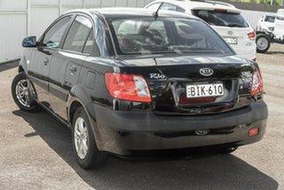 2009 Kia Rio JB MY07 EX Black 4 Speed Automatic Sedan.