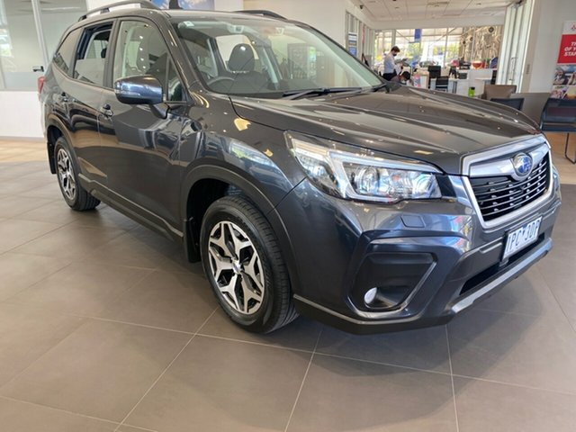 Used Subaru Forester S5 MY19 2.5i-L CVT AWD Essendon Fields, 2019 Subaru Forester S5 MY19 2.5i-L CVT AWD Grey 7 Speed Constant Variable Wagon