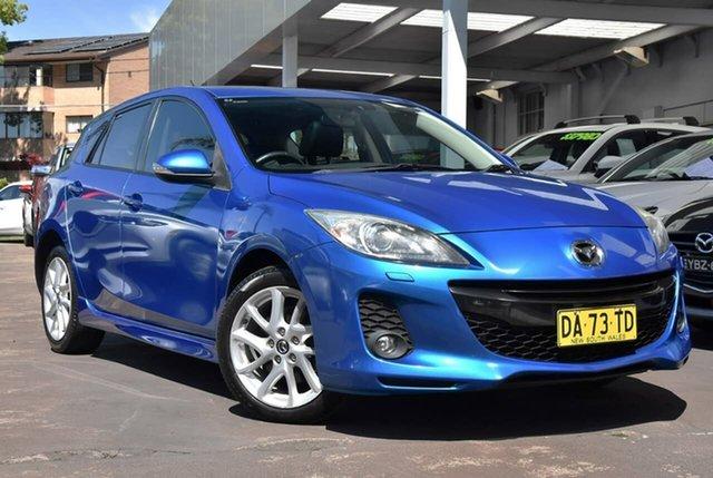 Used Mazda 3 BL10L2 MY13 SP25 Waitara, 2013 Mazda 3 BL10L2 MY13 SP25 Blue 6 Speed Manual Hatchback