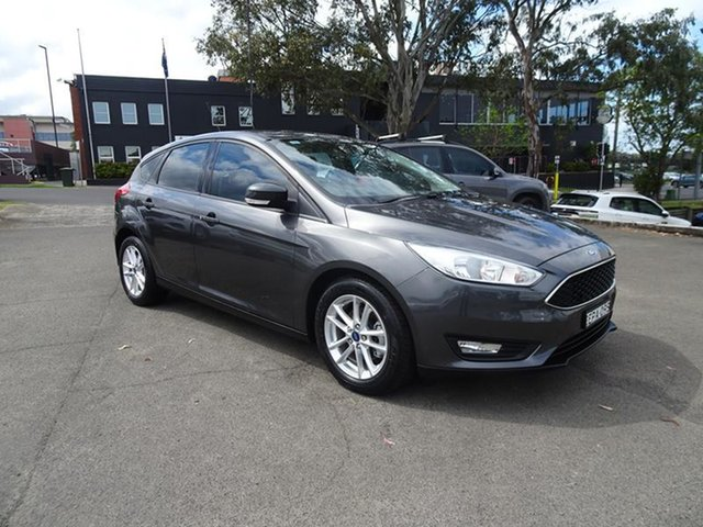 Used Ford Focus LZ Trend Nowra, 2017 Ford Focus LZ Trend Magnetic 6 Speed Automatic Hatchback