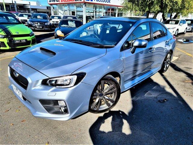 Used Subaru WRX V1 MY16 AWD Seaford, 2016 Subaru WRX V1 MY16 AWD Silver 6 Speed Manual Sedan