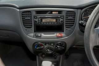 2009 Kia Rio JB MY07 EX Black 4 Speed Automatic Sedan