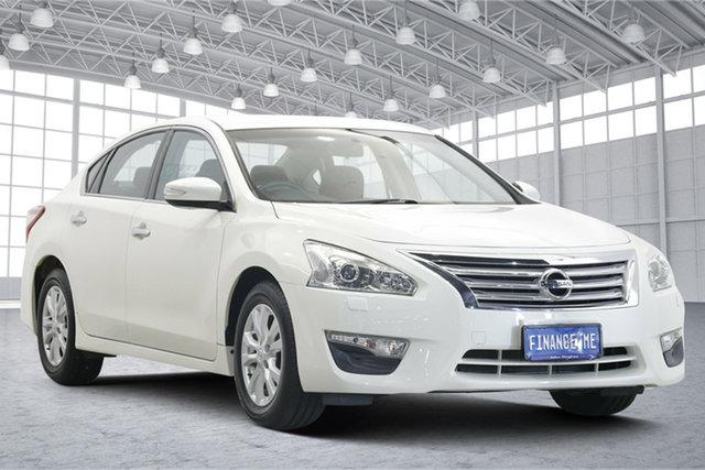 Used Nissan Altima L33 ST X-tronic Victoria Park, 2016 Nissan Altima L33 ST X-tronic Pearl White 1 Speed Constant Variable Sedan