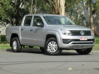 2017 Volkswagen Amarok 2H MY17 TDI420 4MOTION Perm Core Silver 8 Speed Automatic Cab Chassis.