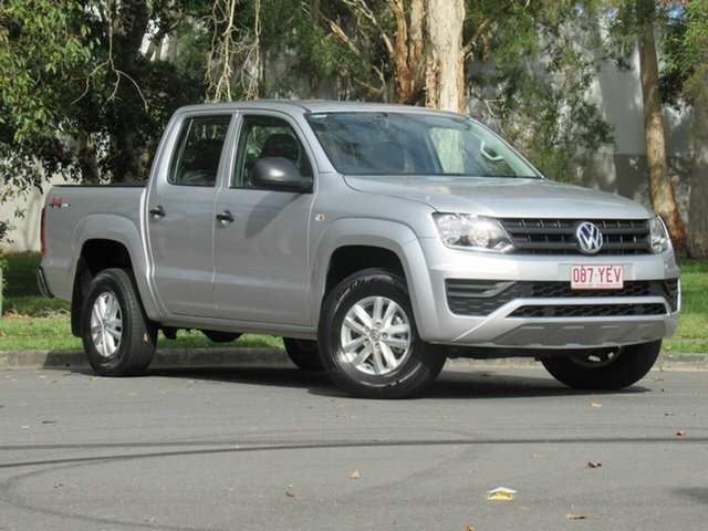 Used Volkswagen Amarok 2H MY17 TDI420 4MOTION Perm Core, 2017 Volkswagen Amarok 2H MY17 TDI420 4MOTION Perm Core Silver 8 Speed Automatic Cab Chassis
