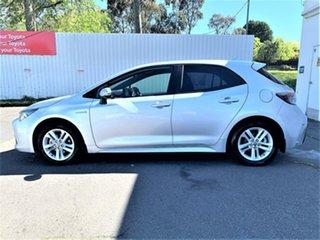 2020 Toyota Corolla ZWE211R SX E-CVT Hybrid Silver Pearl 10 Speed Constant Variable Hatchback Hybrid