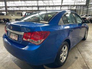 2011 Holden Cruze JG CD Blue 5 Speed Manual Sedan