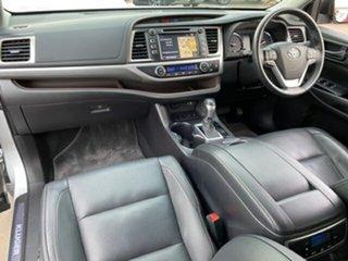 2018 Toyota Kluger GSU50R Grande (4x2) Silver 8 Speed Automatic Wagon.