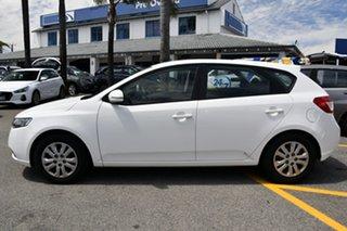 2012 Kia Cerato TD MY12 S White 6 Speed Sports Automatic Hatchback.