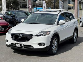 2013 Mazda CX-9 TB10A5 Grand Touring Activematic AWD Crystal White Pearl 6 Speed Sports Automatic
