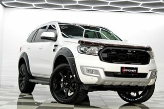 2018 Ford Everest UA MY18 Trend (4WD) (5 Yr) White 6 Speed Automatic SUV.