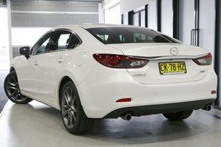 2016 Mazda 6 6C MY15 GT Snowflake White 6 Speed Automatic Sedan.