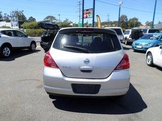 2008 Nissan Tiida ST-L Silver Automatic Hatchback.