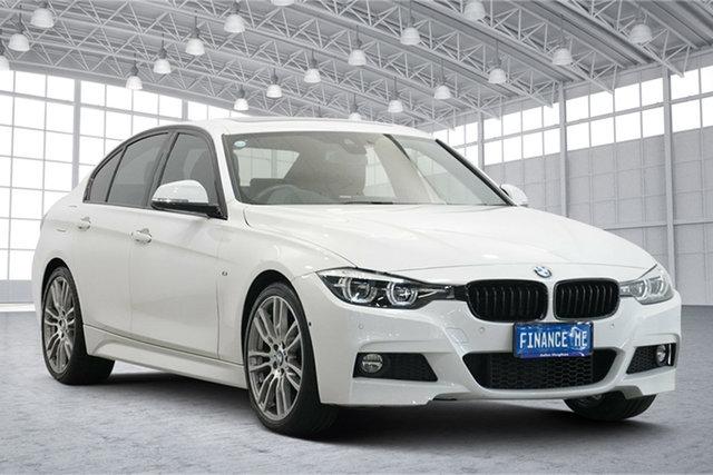Used BMW 3 Series F30 LCI 320i M Sport Victoria Park, 2018 BMW 3 Series F30 LCI 320i M Sport Alpine White 8 Speed Sports Automatic Sedan